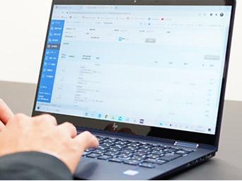 そチャットを基本のコミュニケーションツールとしたレスポンスの早さが持ち味です。 インターネットバンキングと会計ソフトを連動させることで、会計データの入力が省力化され、試算表をスピーディーに作成することが可能です。